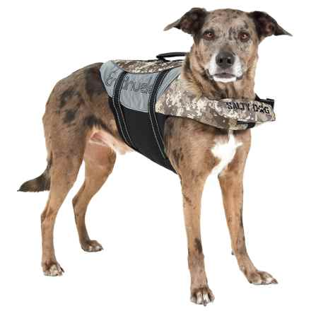 PetEgo Salty Dog Life Jacket - Large in Camouflage - Closeouts