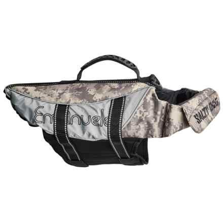 PetEgo Salty Dog Life Jacket - Medium in Camouflage - Closeouts