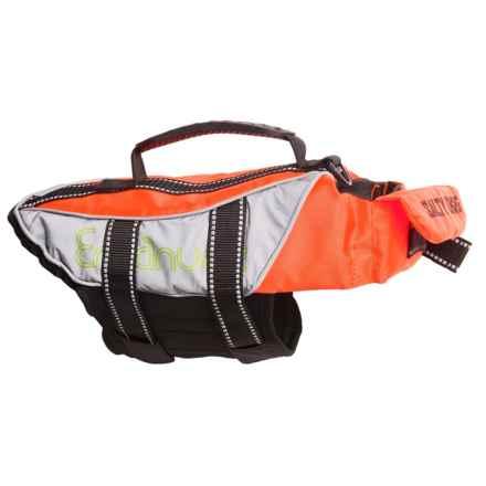 PetEgo Salty Dog Life Jacket - Medium in Orange - Closeouts