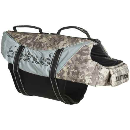 PetEgo Salty Dog Life Jacket - X-Large in Camouflage - Closeouts
