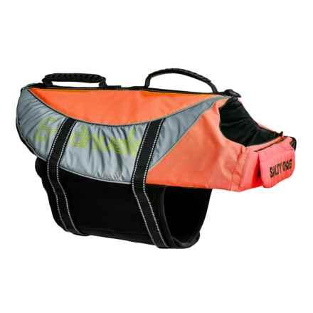 PetEgo Salty Dog Life Jacket - X-Large in Orange - Closeouts