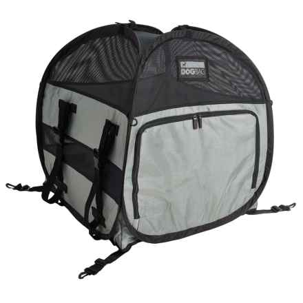 PetEgo The Dog Bag Shelter - Small in Black - Closeouts