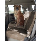 "PetEgo Velvet Multi-Fabric Rear Car Seat Cover - 48x52"""