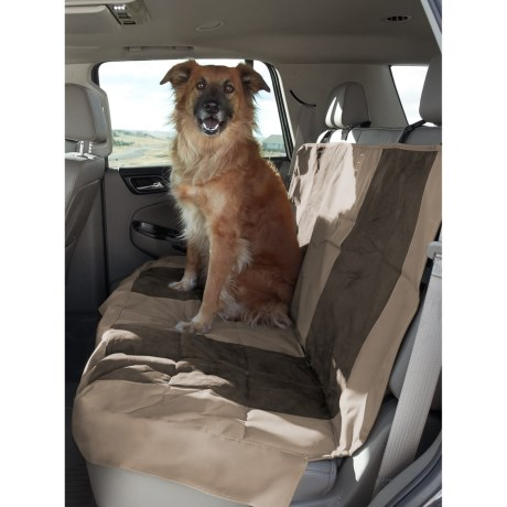 Image of PetEgo Velvet Multi-Fabric Rear Car Seat Cover - 48x52?