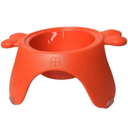 PetEgo Yoga Bowl - Large in Orange - Closeouts