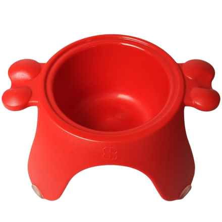 PetEgo Yoga Bowl - Medium in Red - Closeouts