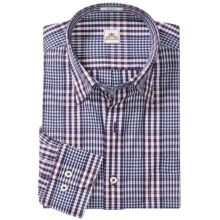 Peter Millar Bainbridge Fancy Shirt - Long Sleeve (For Men) in Navy - Closeouts