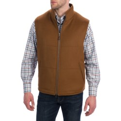 Peter Millar Breckenridge Vest - Wool-Cashmere (For Men) in Vicuna