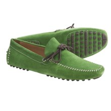 Peter Millar Brooks Driving Moccasins - Suede (For Men) in Pob - Closeouts