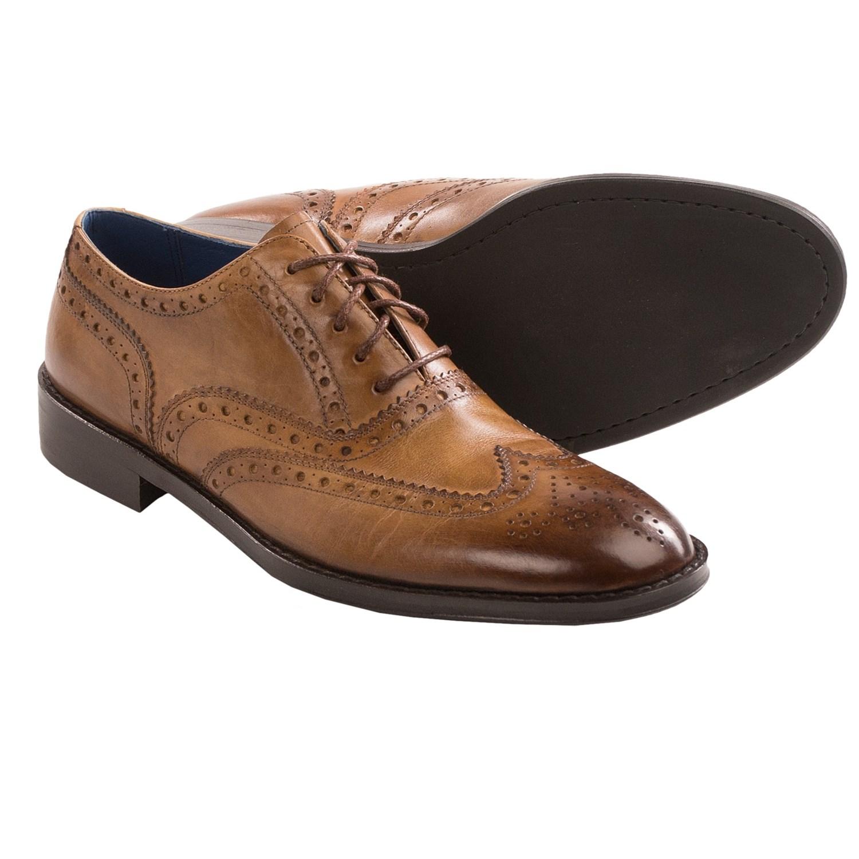 wingtip shoes