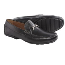 Peter Millar Driver Moccasins - Metal Bit, Slip-Ons (For Men) in Black - Closeouts