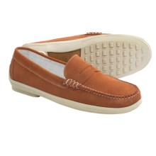 Peter Millar Freddy Penny Loafer Shoes - Suede (For Men) in Ora - Closeouts