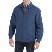 Peter Millar Gregory Microfiber Blouson Jacket (For Men) in Marlin - Closeouts