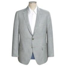 Peter Millar Justice Check Sport Coat - Loro Piana Italian Wool (For Men) in Brown/Blue/Cream - Closeouts