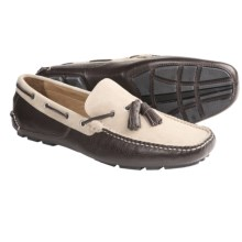 Peter Millar Napoli Driving Moccasins (For Men) in Sand - Closeouts
