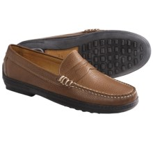 Peter Millar Penny Loafer Shoes - Leather, Slip-Ons (For Men) in Brown - Closeouts