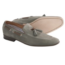 Peter Millar Portofino Loafer Shoes - Nubuck (For Men) in Slate - Closeouts