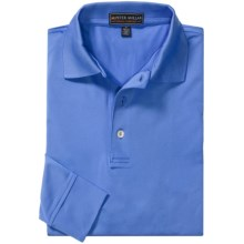 Peter Millar Signature Summer Comfort Polo Shirt - Long Sleeve (For Men) in Crb - Closeouts