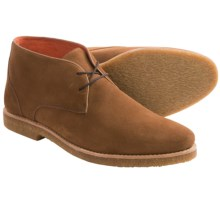 Peter Millar Suede Chukka Boots (For Men) in Walnut - Closeouts