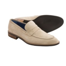 Peter Millar Suede Penny Loafers (For Men) in Sand - Closeouts