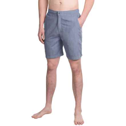 Peter Millar Summer Solid Swim Trunks (For Men) in Newport - Closeouts