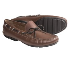 Peter Millar Tie Driver Moccasins (For Men) in Cognac - Closeouts
