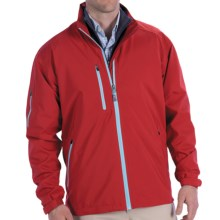 Peter Millar Vancouver Rain Jacket - Waterproof (For Men) in Cardinal - Closeouts