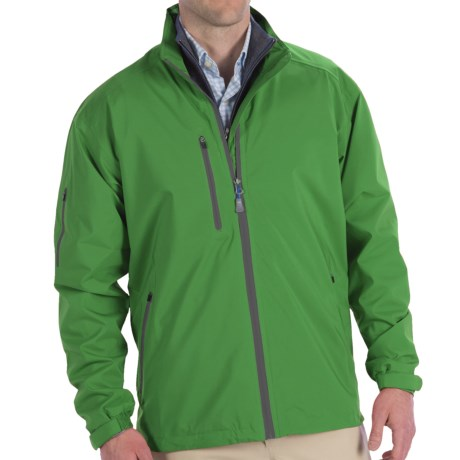 Peter Millar Vancouver Rain Jacket - Waterproof (For Men) in Poblano