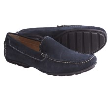 Peter Millar Venetian Moccasins - Suede (For Men) in Sports Navy - Closeouts