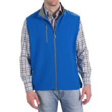 Peter Millar Winnipeg Performance Windblock Vest (For Men) in Harbor Blue - Closeouts