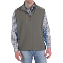 Peter Millar Winnipeg Performance Windblock Vest (For Men) in Smoke - Closeouts
