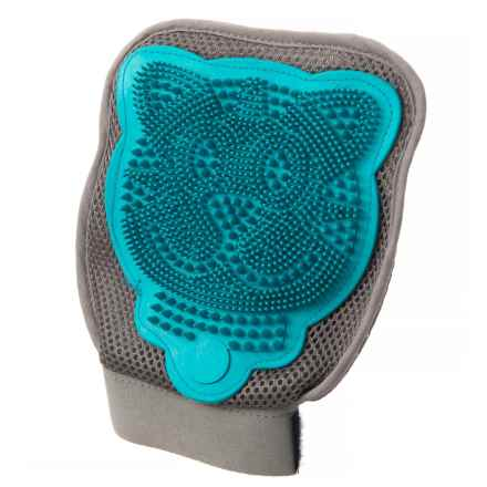 Petmate Furbuster 3-in-1 Cat Grooming Glove in Blue - Closeouts