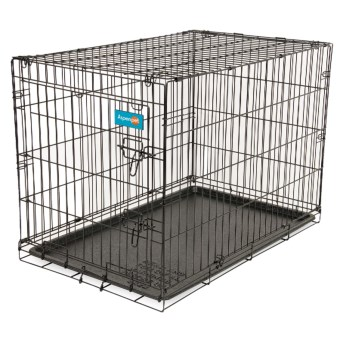 "Petmate Home Training Kennel with Floor Mat - 30"" in See Photo"