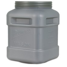 Petmate Mason Jar Food Storage Container - 40 lb. in Gray - Closeouts