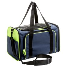 Petmate See and Extend Pet Carrier in Navy Blue - Closeouts
