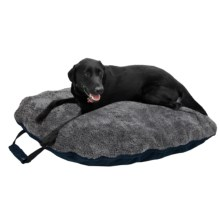 "Petmate Zip & Go Dog Bed - Large, 33x44"" in Navy Blue - Closeouts"