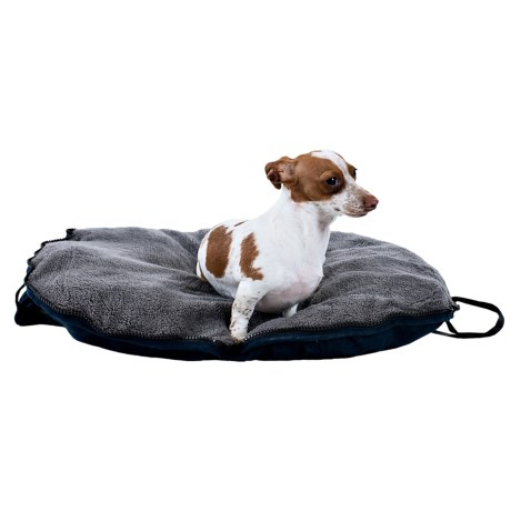 """Petmate Zip & Go Dog Bed - Small, 20x24"""" in Navy Blue"""