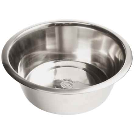 PetRageous Barbados Stainless Steel Bowl - 5 qt. in Steel - Closeouts
