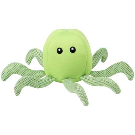 PetRageous FloatRageous Ollie the Octopus Dog Toy in Green - Closeouts