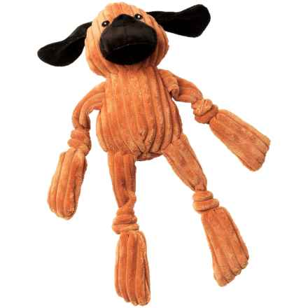 PetRageous FunRageous Duff the Dog Toy in Orange - Closeouts