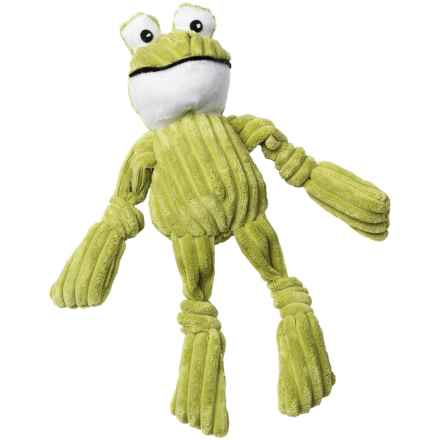 PetRageous FunRageous Freddy the Frog Dog Toy in Green - Closeouts