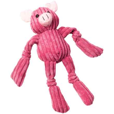 PetRageous FunRageous Penny the Pig Dog Toy in Pink - Closeouts