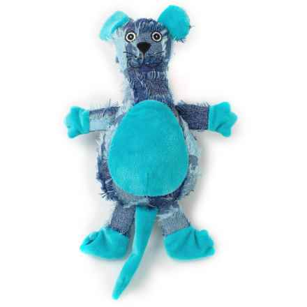 PetRageous GoofRageous Mouse Dog Toy in Blue - Closeouts