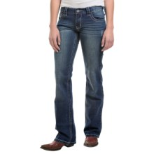 Petrol Brenda Jeans - Low Rise, Bootcut (For Women) in Dark Wash - Closeouts
