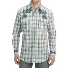 Petrol Bronson Shirt - Snap Front, Long Sleeve (For Men) in Plaid - Closeouts