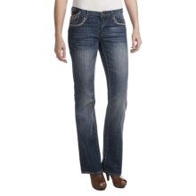 Petrol Casey Denim Jeans - Low Rise, Slim Fit, Bootcut (For Women) in Dark Wash - Closeouts