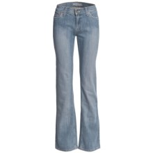 Petrol Heartbreaker 5-Pocket Jeans - Mid Rise, Bootcut (For Women) in Light Wash - Closeouts