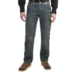 Petrol Jordan Jeans - Regular Straight Fit (For Men) in Med Wash