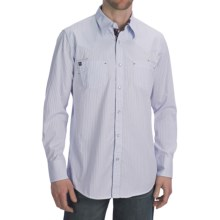 Petrol Mason Shirt - Snap Front, Long Sleeve (For Men) in White - Closeouts