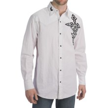 Petrol Wallace Shirt - Snap Front, Long Sleeve (For Men) in White - Closeouts